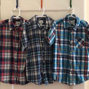 Boys Plaid Shirt Bundle